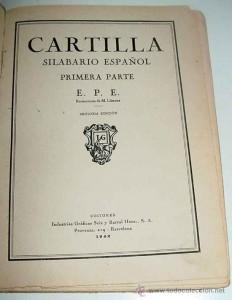Cartilla abecedario de Seix i Barral . www.todocoleccion.net