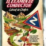 Antiguo Libro El Examen de conductor. Carnet de Chofer año 1958. www.todocoleccion.net