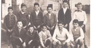 Alguns companys d'escola. Anys 50 a Vilobí d'Onyar
