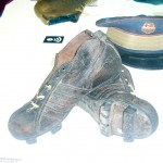 Reproducció de les botes de Marià Gonzalvo. Museu del Barça