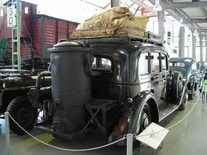 Cotxe amb gasògen, 1941. Autor de  la imatge: Mattes (treball propi). Font: http://commons.wikimedia.org/