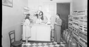 Granja – lleteria, c.1943