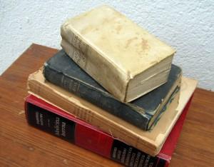 Llibres antics. Vida sana.
