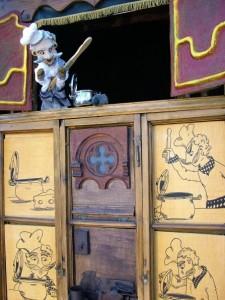 El Bavastell antic. Galiot,  teatre de titelles