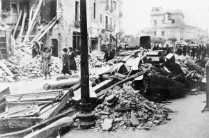 Granollers , bombardeig Guerra Civil 1938