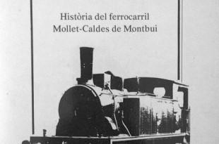 El Calderí, el tren de Mollet a Caldes