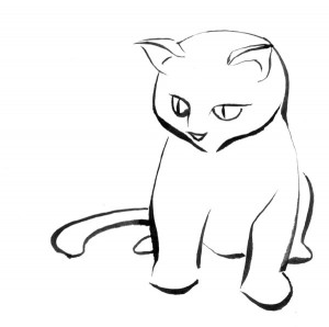 Cat_sketch_minimal_thingy