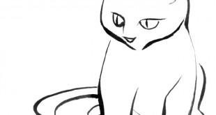 Cat_sketch_minimal_thingy
