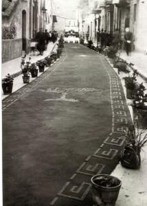 Corpus, al carrer Ventalló. Mollet