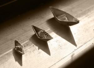 barques de paper