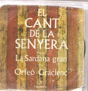 Vinil de l' Orfeó Gracienc