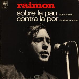 Raimon. Àlbum any 1969. Discogràfica CBS