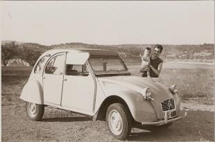El nostre 2CV l'any 1967