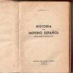 Llibres de batxillerat del franquisme (cap el 1948).