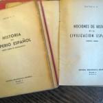 Llibres de batxillerat del franquisme (1948-1950)
