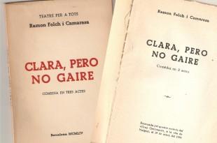 Clara, però no gaire