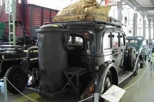 Adler Diplomat amb gasogen (1941)