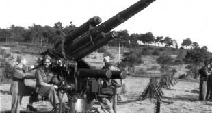 Canons. Milícies universitàries. Castillejos, 1954